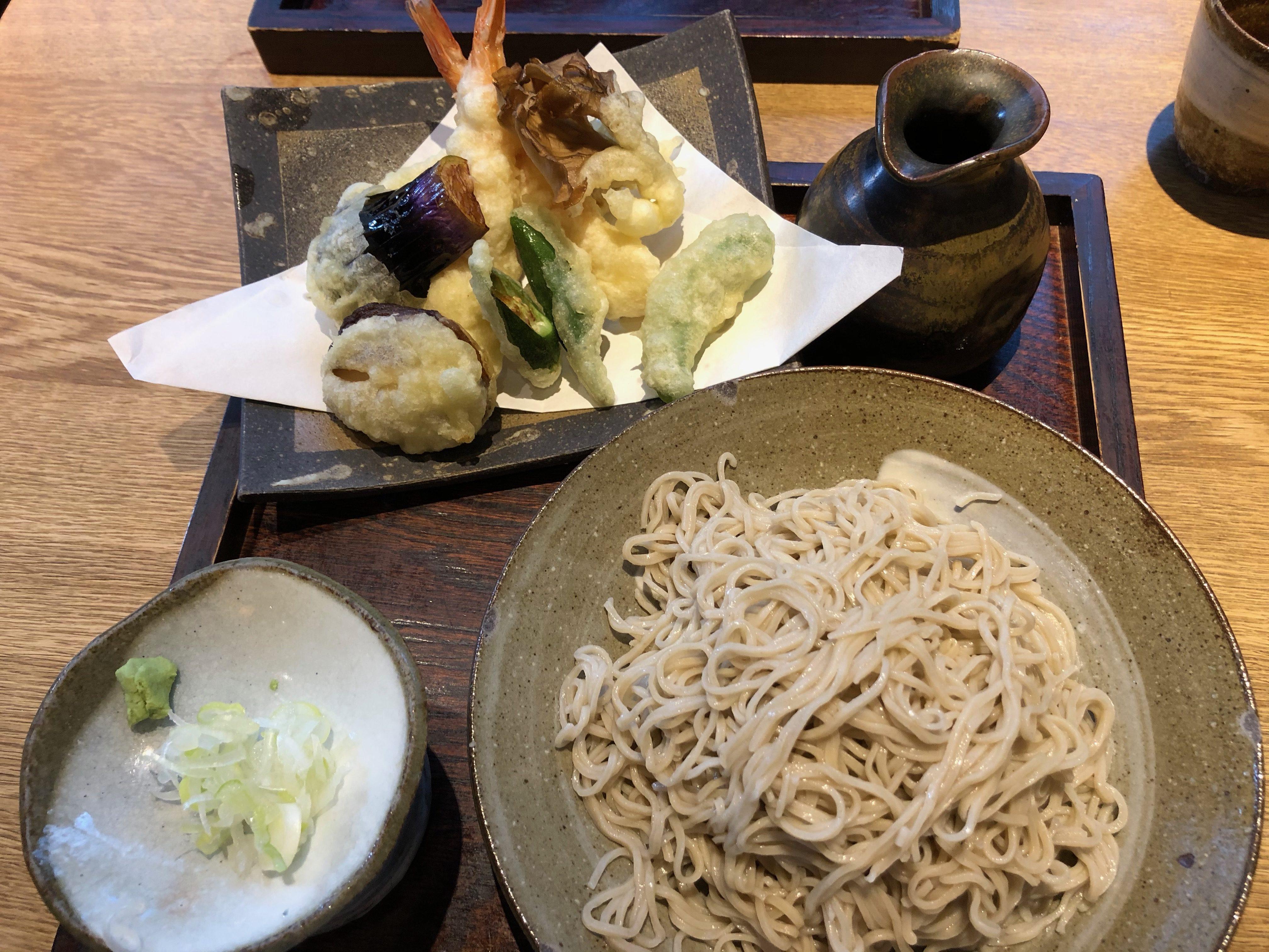 薫庵 天ぷら蕎麦