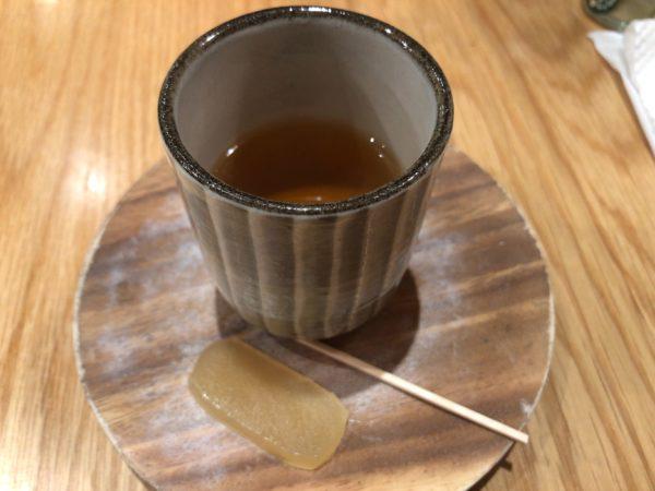 ヒシミツお茶菓子