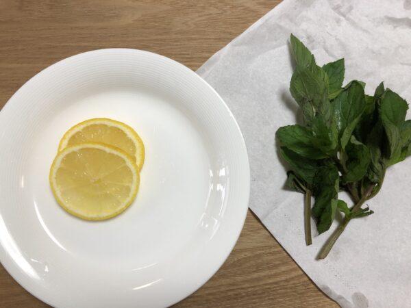 レモンとミント